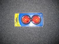 set ronde positielampjes rood