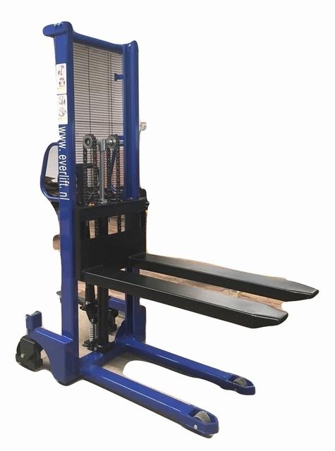 Handmatige stapelaar 1600 mm 1000 kg