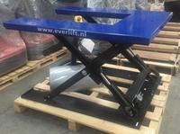 Elektrische U schaarheftafel 1000 kg 380V