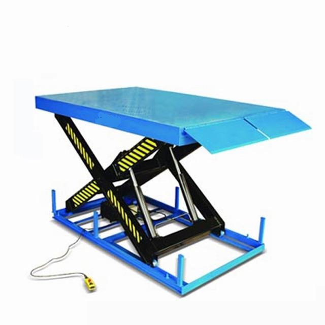 Elektrische schaartafel 330 x 200 cm 5000 kg 60-263 cm 380V
