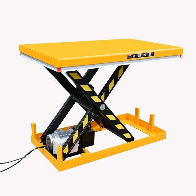 Elektrische schaartafel 250 x 120 cm 1000 kg 30-170 cm 380V