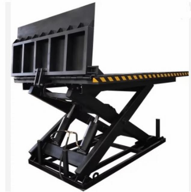 Elektrische schaartafel 280 x 180 cm 10000 kg 70-230 cm 380V