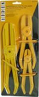 Waterslang stop tang set, 3 st. plastic