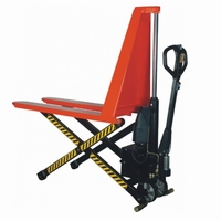 Semi-elektrische schaar palletwagen 1000 kg