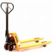 Palletwagen 2000 kg. Pu wielen  kort vorken 95 cm.