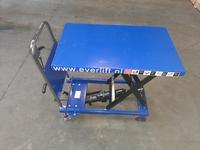 Verrijdbare heftafel 150 kg 700 x 450 mm 210-720 mm hoog