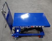 Verrijdbare heftafel 500 kg 815 x 500 mm 280-900 mm hoog