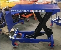 Verrijdbare heftafel 1000 kg 1015 x 510 mm 415-1000 mm hoog