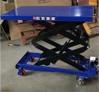 Verrijdbare heftafel 150 kg 700 x 450 mm 302-1260 mm hoog