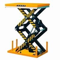 Elektrische schaartafel 130 x 82 cm 1000 kg 30,5-178 cm 230V