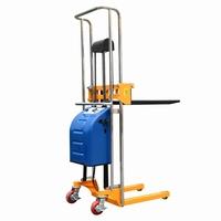 Semi elektrisch lichtgewicht / mini stapelaar 1700 mm 400 kg