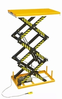 Elektrische schaartafel 170 x 100 cm 1000 kg 47-300 cm 380V