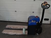 Elektrische Palletwagen 1500 kg instap model korte vorken
