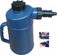 Accu vul kan, 2-liter, met auto-stop, PVC