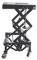 motorfiets cross schaar-lift max 135kg op wielen