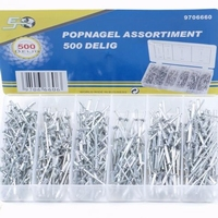 popnagel assortiment 500 delig